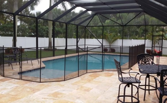 In-Ground Pool and Patio with