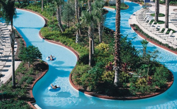 Lazy river at Championsgate
