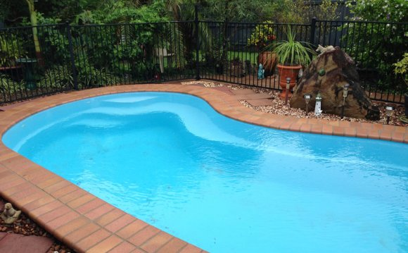 Light Blue Vinyl Pool Liner