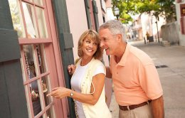 Couple Enjoys Time in St. Augustine
