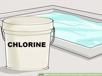 Image titled Eliminate and stop Green Algae in a pool Step 1
