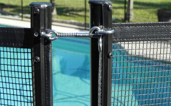 Florida pool Fence