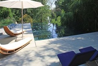 Lewis Aquatech Pools sandstone share deck