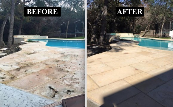 How to clean pool Deck?