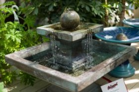 Outdoor Statuary and Fountains - outside Fountains - land Fountains - Water Features - Patuxent Nursery,  Bowie,  MD