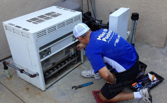 Gas pool Heater repair