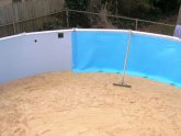 Swimming pool Liner Installation