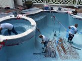 Swimming Pools Repairing leaks