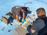 Trenchless pool pipe repair